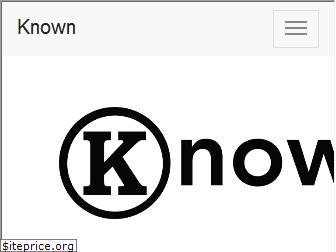 withknown.com