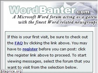 wordbanter.com