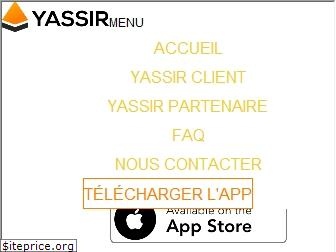 www.yassir.io website price