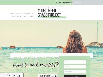 yourgreengrassproject.com