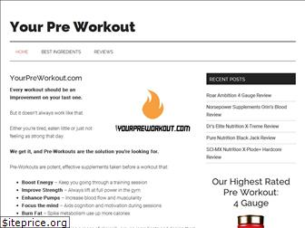 yourpreworkout.com