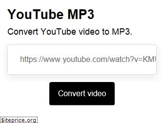 youtube-mp3.io