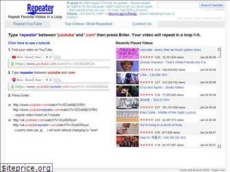 youtuberepeater.com