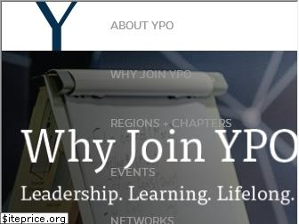 www.ypo.org website price