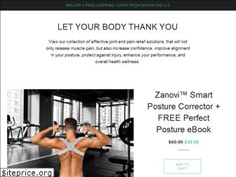 www.zanovi.co website price