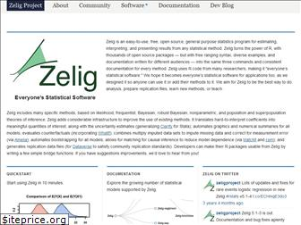 zeligproject.org