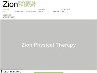 zionphysicaltherapy.com