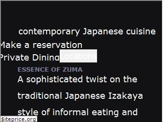 zumarestaurant.com
