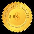 My Website's Worth