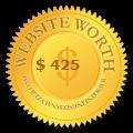 Website worth